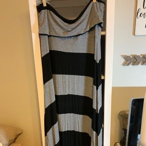 Gap sleeveless maxi dress XXL
